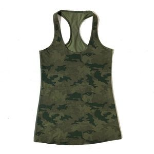 RARE Lululemon Savasana Camo 20cm Fatigue Green